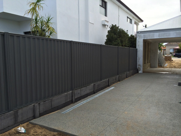 Colorbond Fencing Perth Smoothline